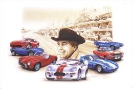 Carroll Shelby  -  Le Mans  -  Viper-Cobra-Mustang-Shelby  -  Tableau De Francois Bruère  -  CP - Le Mans