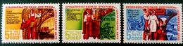 PROGRAMME ALIMENTAIRE 1983 - NEUFS ** - YT 5041/43 - MI 5320/22 - 1923-1991 USSR