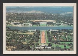 DF / AUSTRALIE / CANBERRA / ACT / VUE SUR LE TRIANGLE PARLEMENTAIRE  / CARTE DOCUMENTAIRE - Canberra (ACT)