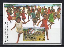 MEDICINA - GAMBIA 1989 - Yvert #H79 - MNH ** - Medicina