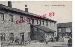 87 - SAUVIAT - FABRIQUE DE PORCELAINE - EDITEUR LAUBY - Frankrijk