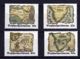 Bophuthatswana - 1992 - Old Maps (2nd Series) - MNH - Bophuthatswana