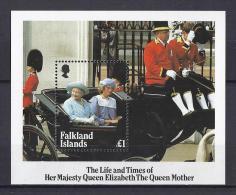 FAMILIAS REALES - FALKLAND ISLANDS 1985 - Yvert #H5 - MNH ** - Familias Reales