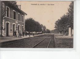 THORE - La Gare - Très Bon état - Altri Comuni