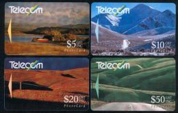 New Zealand - 1991 Landscapes Set (4) - NZ-G-25/8 - Very Fine Used - Neuseeland