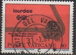 PIA  -  VATICANO  - 1981 -  42°  Congresso  Eucaristico  Internazionale  -  (SAS  690-93) - Vaticano
