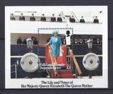 FAMILIAS REALES - FALKLAND ISLANDS 1985 - Yvert #H2 - MNH ** - Familias Reales