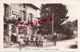 87 - VEYRAC - AVENUE DE LA MAIRIE - DEBIT DE TABAC - MR. DUROUSSEAU SUR SON CHEVAL - Frankrijk