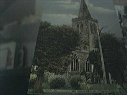 Postcard Unused All Saints Church Wigston Magna WGN34 - Angleterre