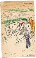 Chemins De Fer De L´ouest - Illustrateur J. Matet - Saint-Pol-de-Léon