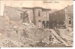 """MILITARIA (14-18) BELLE CPA ALLEMANDE 55 """"HATTONCHATEL"""" 1915 (SHULE = éCOLE) (FELDPOST ET TAMPONS A VOIR) - Guerre 1914-18"""