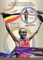 UGN13119b Uganda 2013 Olympic Champions s/s Flag