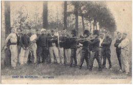 Camp De Berverloo - Le Fusillé   1907 - Leopoldsburg (Camp De Beverloo)