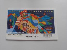 LOTTERIA ITALIA 2000 - Pubblicitari