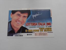 LOTTERIA ITALIA 2002 - Pubblicitari
