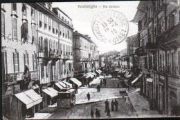ITALIE - VENTIMIGLIA - VIA CAVAUR - Imperia