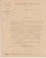 Tarn Albi 1906 Précautions à Prendre/ Inventaire Fabrique De Salles (séparation Eglise/Etat) - Historical Documents