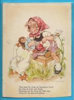 C.P. H. PEYK - Enfant Avec Poupée Et Oies - Peyk, Hilla