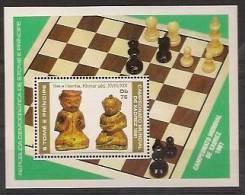SAO TOME AND PRINCIPE 1981 Chess Championship - Sao Tome En Principe