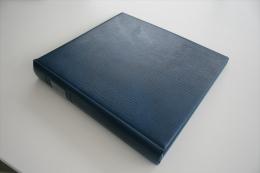 Israel Album - Lindner Album, Blue - Formato Grande, Fondo Blanco