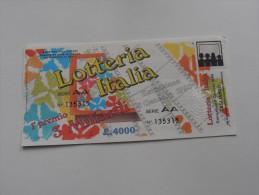 LOTTERIA ITALIA 1989 - Publicité