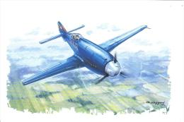 Fritz Wendel  -  Messerschmitt Me-209 V1  -  1939  -  Art Card  -  CP - 1939-1945: 2ème Guerre
