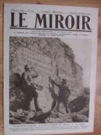 Le Miroir N° 205 Du 28 Octobre 1917 Guerre 14 / 18 - Livres, BD, Revues
