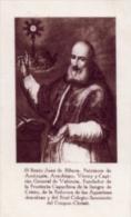 Santino Nuovo SAN GIOVANNI DE RIBERA Patriarca - Ristampa Tipografica Da Santino Antico - PERFETTO F54 - Religione & Esoterismo