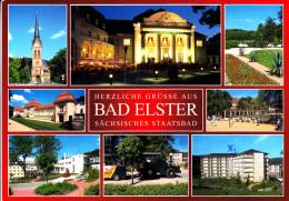 BAD ELSTER - Vues De La Ville - Carte écrite Ayant Circulée - Bad Elster