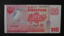Singapore - 10 Dollar - 1979 - P 11a - VF/F - Look Scan - Singapur