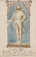 Photographie - Carte-Photo - Surr�alisme - Histoire Moyen-Age - Armure