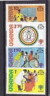 Uganda Nº 210 Al 213 - Uganda (1962-...)