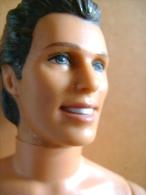 Ken (barbie) Mattel Inc 1968 Indonesia, Tête Amovible, Bras Et Jambes Rigides Mais Articulés, - Barbie