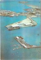 CPM 10X15 . DJIBOUTI . VUE AERIENNE DU PORT ET  L ' ESCALE NAUTIQUE - Gibuti