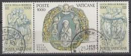 PIA  -  VATICANO  - 1982 -  500°  Della Morte Dello Scultore Luca Della  Robbia  -  (SAS  710-12) - Vaticano (Ciudad Del)