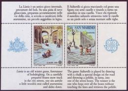Cept 1989 San Marino Yvertn° Bloc 15 *** MNH Cote 30 Euro - 1989