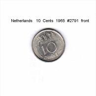 NETHERLANDS    10  CENTS  1965  (KM # 182) - [ 3] 1815-… : Kingdom Of The Netherlands