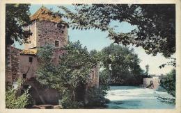 34 SAINT THIBERY Le Moulin CPSM PF Ed. Coll. Melle Théron Mercerie SSt Thibery ./ Combier - France