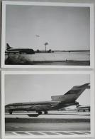 2 Original Fotos Flughafen Vermutlich Stuttgart , Frühe 60er Jahre - 1946-....: Moderne