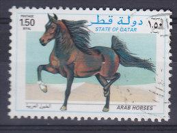 Qatar 1997 Mi. 1107     1.50 R Araberpferd Arab Horse Cheval Arabe - Qatar