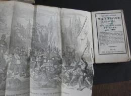 Almanach 1865 - Vrai Double Matthieu Laensberg / Matthieu Rouge / Gravures - Emplacement Des Troupes - 1801-1900