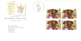 UK FDC  -  The Story Of Beatrix Potter - Fairy Tales, Popular Stories & Legends