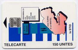 Télécarte 150 Unités Djibouti 10/95 - La STID, Série C5A Sans Logo Moreno - Djibouti