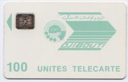 Télécarte 100 Unités Djibouti - OPT Verte, Puce SC4, Lot 36236 - Djibouti