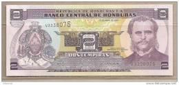 Honduras - Banconota Non Circolata Da 2 Lempiras - 2008 - Honduras