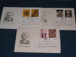 Brief Cover  DDR Deutschland 1970 Kunstwoche Käthe Kollwitz Ernst Barlach Otto Nagel Kunst Art - Lettres & Documents