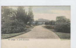 CP Liège Le Jardin Botanique Vers 1904 Colorisé - Lüttich