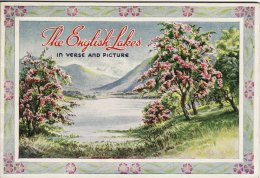 Lovely Book The English Lakes In Verse & Picture 27 Prints Valentine & Sons - Travel/ Exploration