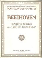 """BEETHOVEN Marche Turque Des """"ruines D'Athènes"""" - A-C"""