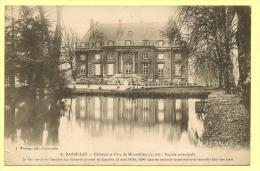 BAZEILLES Château Et Parc De MONTVILLERS  Pliure Minime En Bas à Gauche  Voir Scanners - France